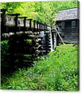 Smoky Mountain Mill Canvas Print