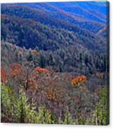 Smokey Mountain Pass Canvas Print