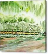 Smokey Mountian Cabin Canvas Print