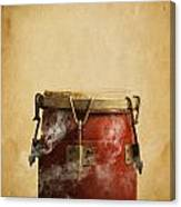 Smoking Congas Canvas Print