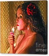 Smoking Hot Canvas Print