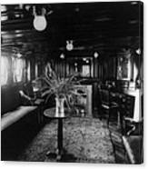 Smoking Room On The Presidential Yacht Canvas Print