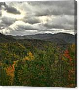 Smoky Mountain Autumn View Canvas Print