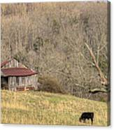 Smoky Mountain Barn 10 Canvas Print