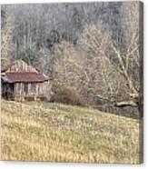 Smoky Mountain Barn 4 Canvas Print