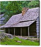 Smoky Mountain Cabins Canvas Print