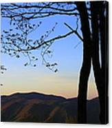 Smoky Mountains At Dusk Canvas Print