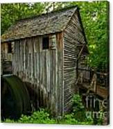 Smoky Mountains Grist Mill Canvas Print