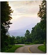 Smoky Mountains Scene Canvas Print