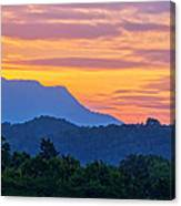 Smoky Mountains Sunrise Canvas Print