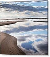Smooth Water Reflections Canvas Print