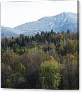 Smugglers Notch From Cambridge Vermont Canvas Print