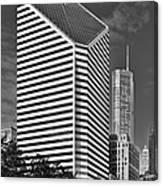 Smurfit-stone Chicago - Now Crain Communications Building Canvas Print