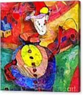 Snail 0372 Marucii Canvas Print