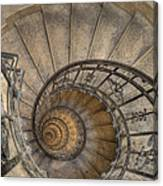 Snailing Stairs Canvas Print