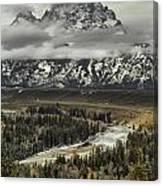 Snake River - Tetons Canvas Print