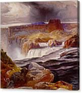 Snake River Idaho 1876 Canvas Print