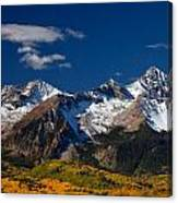Sneffels Clearing  Canvas Print