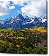 The Sneffles Range Canvas Print