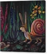 Snellius Fluffius Canvas Print