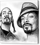 Snoop Dogg Group Art Drawing Sketch Poster 30x85cm Canvas Print
