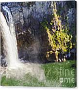 Snoqualime Falls And Pool Canvas Print
