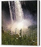 Snoqualmie Falls Wa. Canvas Print