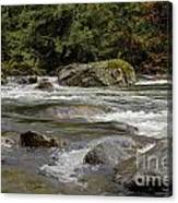 Snoqualmie Rapids Washington Canvas Print