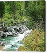 Snoqualmie River Canvas Print