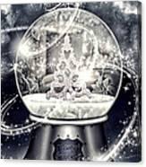 Snow Ball Canvas Print