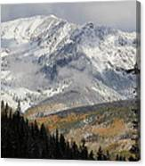 Snow Capped Beauty Canvas Print