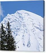 Snow Cone Mountain Top Canvas Print