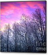 Snow Cone Skies Canvas Print