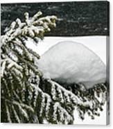 Snow Hill Canvas Print