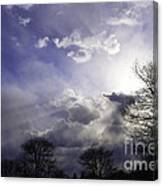 Snow Is In The Air Canvas Print