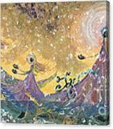 Snow Joy Canvas Print