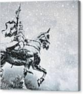 Snow On Joan Canvas Print
