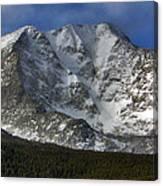 Snow Peaks Canvas Print