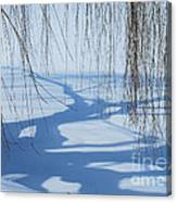 Snow Shadows I Canvas Print