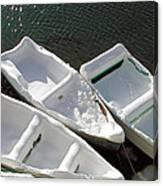 Snowboats Canvas Print