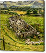 Snowdon Ruin Canvas Print