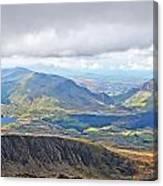 Snowdonian Thunderstorm Canvas Print