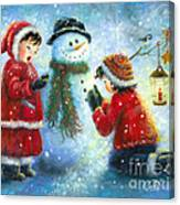 Snowman Song Canvas Print