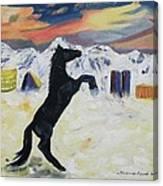Snowtime In Vegas Canvas Print