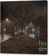 Snowy Nights Canvas Print