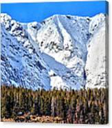 Snowy Ridge Canvas Print