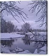Snowy River Bend Canvas Print