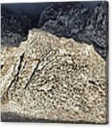 Snowy Sandia Mountain Range Huge Panorama 1150 Canvas Print