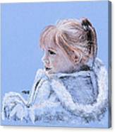 Snug As A Bug In A Rug Canvas Print
