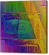 Snyders Garage Canvas Print